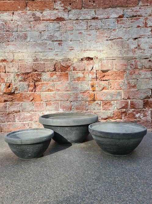 Original Cement Concrete Bowl