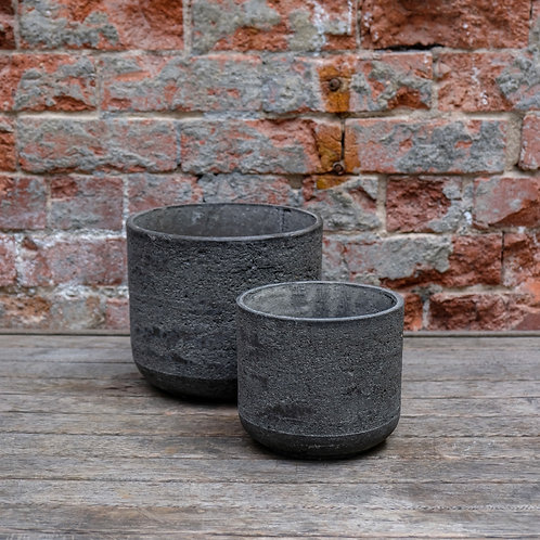 'Cottage' Concrete Tapered Pot