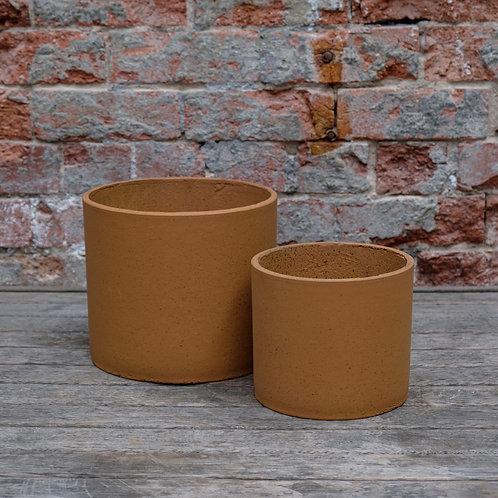 'Granito' Terracotta look Concrete Pot.