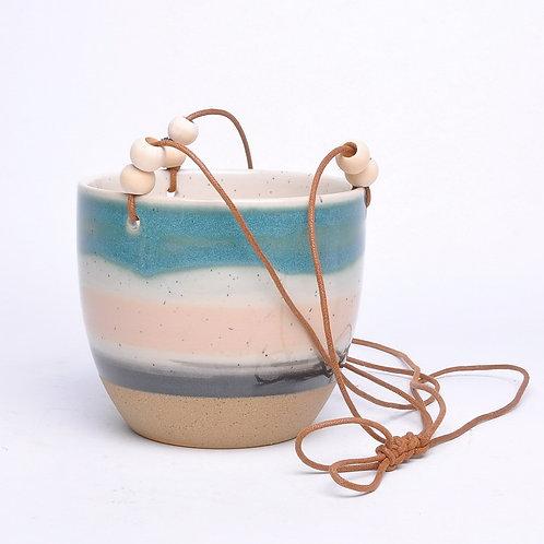 Glazed Hanging Pot 16cm