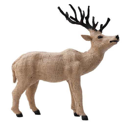 Jute Deer Figurine