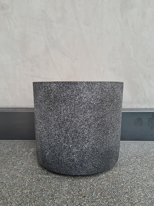 Static Smooth Concrete Pot