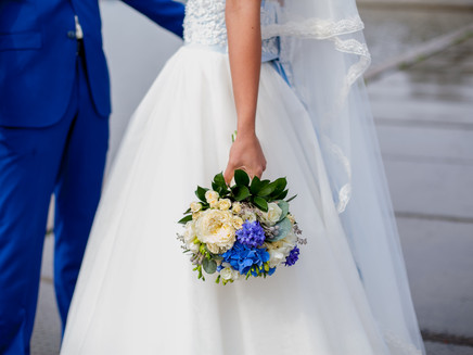 "5 ideas for your wedding with ""something blue"""