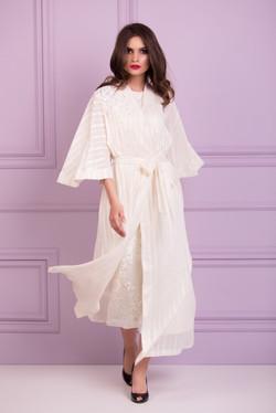 cotton see through robe
