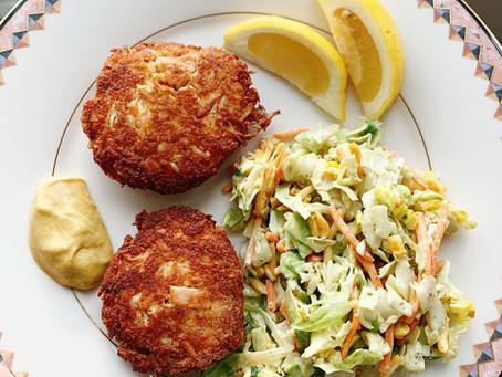 Gluten Free Tuna & Crab Cakes