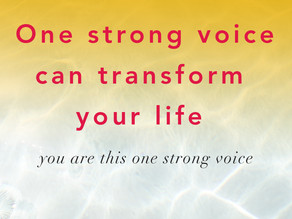 One strong voice to transform your life