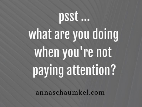 How to transform your attention?