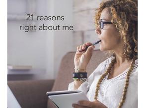 21 Reasons right - uplift the feminine