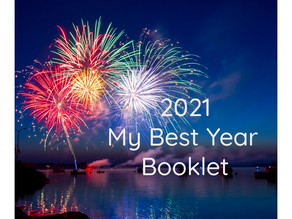 2021 My Best Year Vision Booklet               - my gift for you -