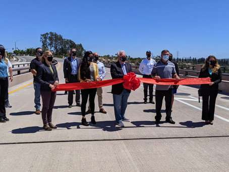 City of Carlsbad Celebrates New Road with Ribbon-Cutting Event