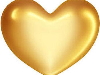 Gold heart level donation