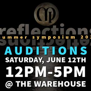 Summer Symposium  Auditions 2021!!!