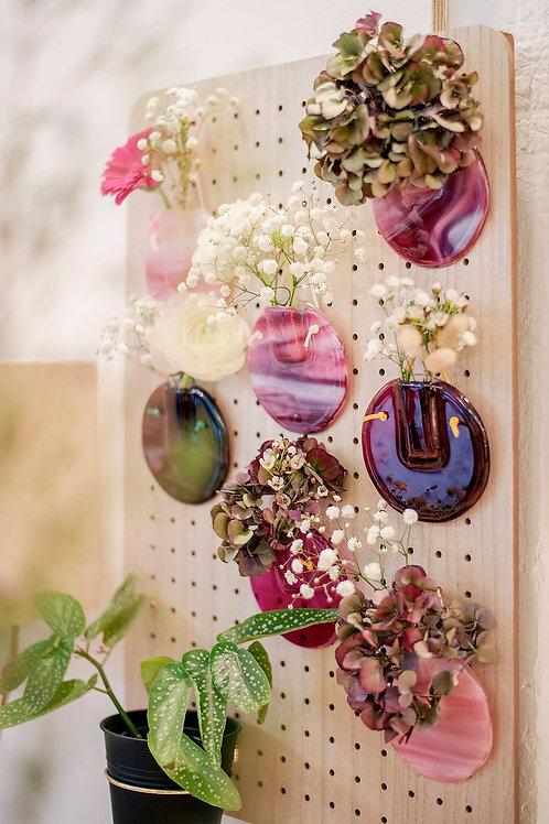Soliflore/Vase mural