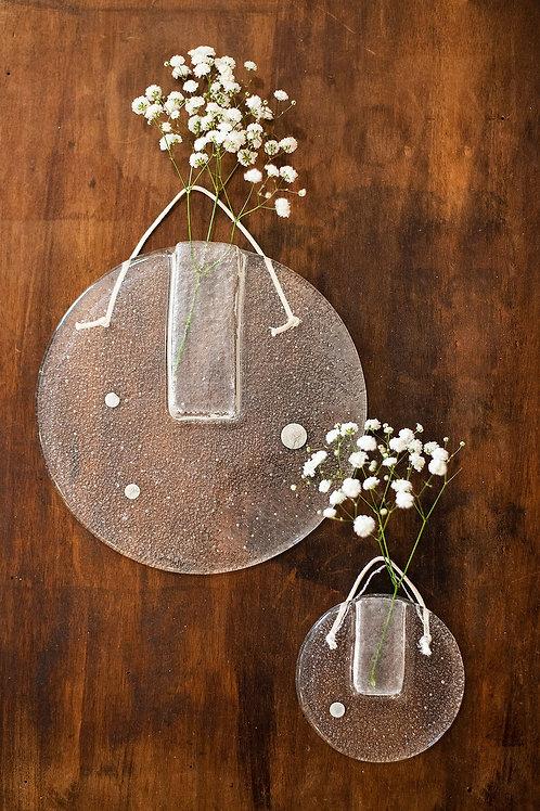 Duo Grand et petit Soliflores/Vases muraux