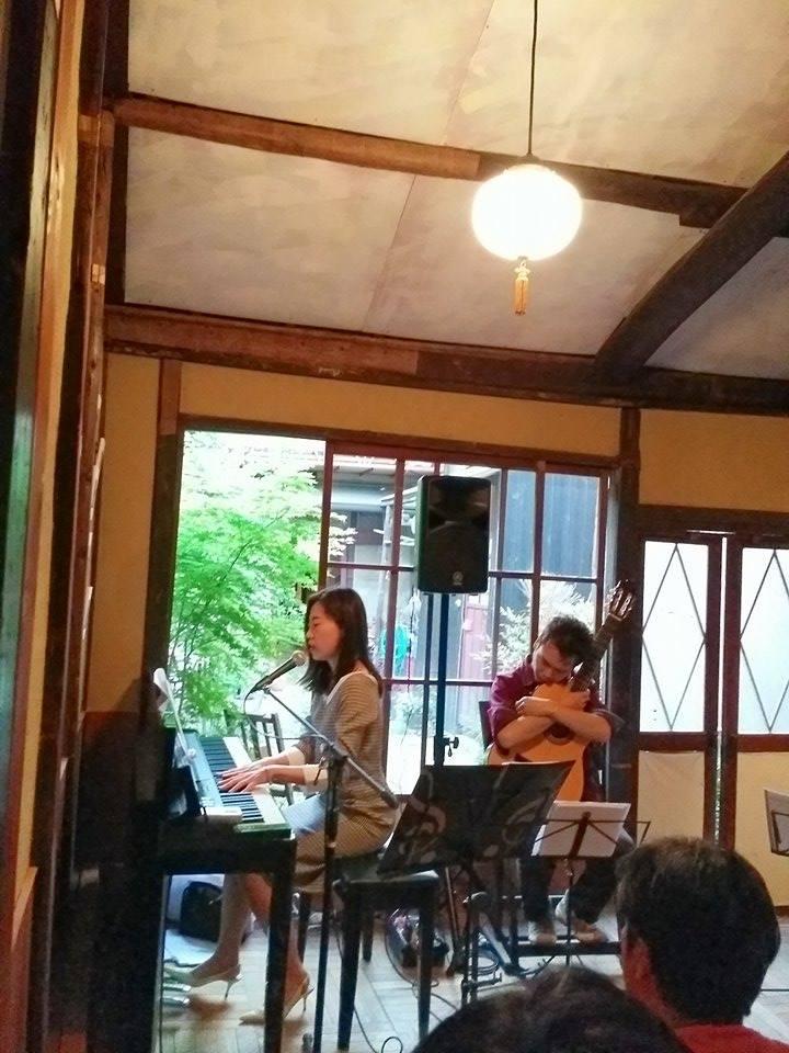 ボサノバ歌手Nakoさん ライブ