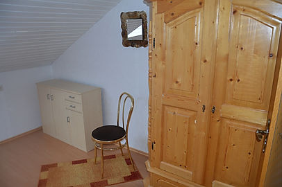 Unsere Ferienwohnung - Schlafzimmerschrank
