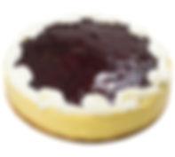 WHITE CHOCOLATE BLUEBERRY CHEESECAKE 7'