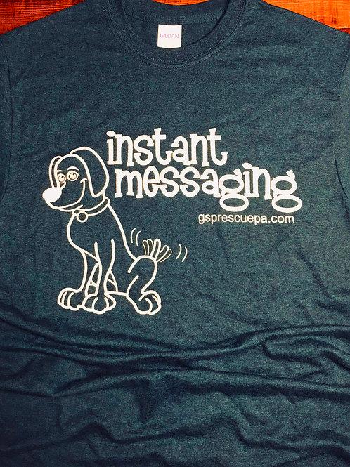 Instant Messaging, T-shirt, short sleeve