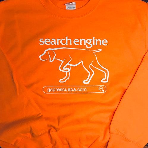 Search Engine, crew neck sweatshirt