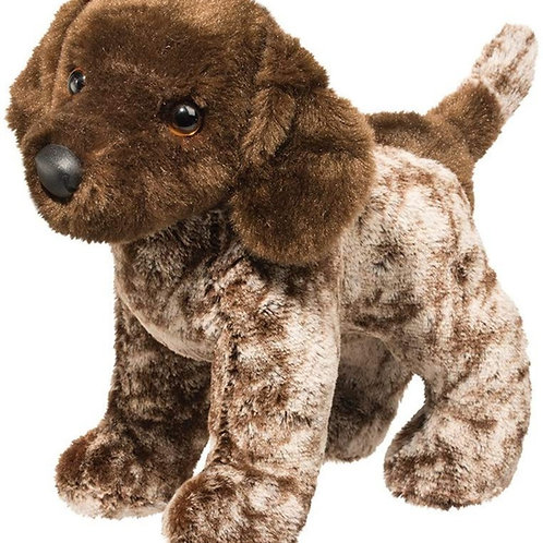 "Gretta, 10"" Plush Dog"