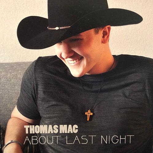 About Last Night NEW 11 Track Album