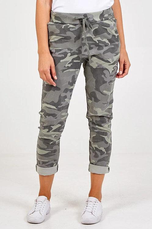 Camo Super Stretch Magic Trousers