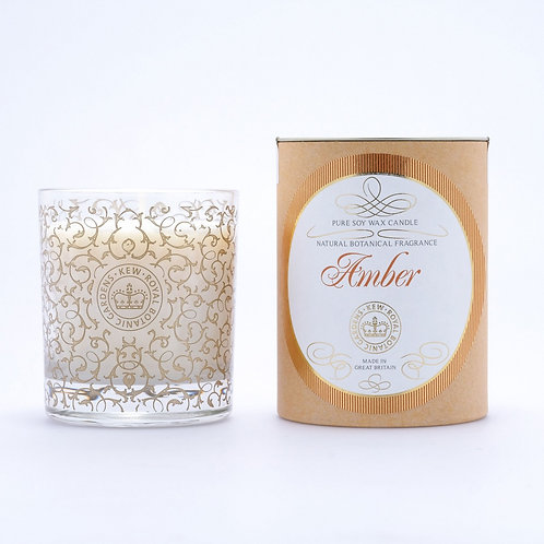Royal Kew Amber Candle