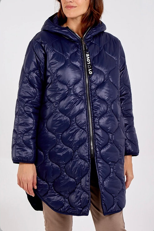 Light Weight Hooded Puffa Coat
