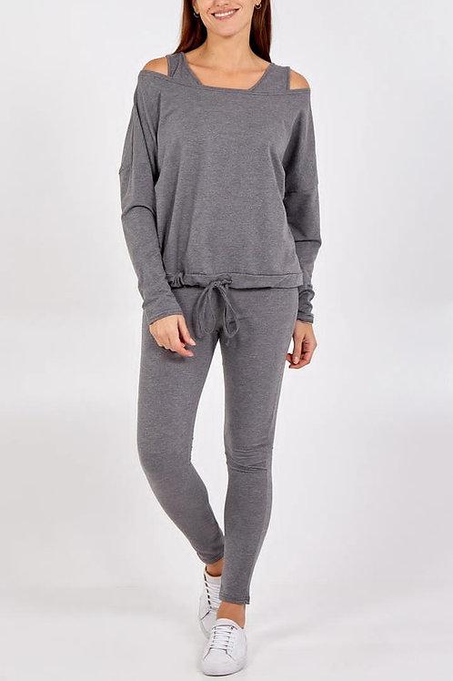 3 Piece Sweatshirt Vest Jogger Set