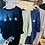 Thumbnail: Glitter trio star pocket sweatshirt