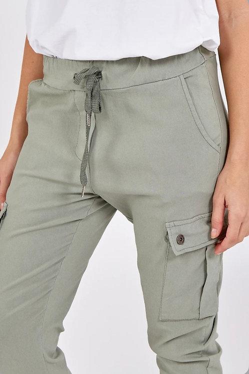 Magic Super Stretch Cargo Trousers