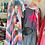 Thumbnail: Crochet Maxi Trim Tie-Dye Short Sleeve Dress