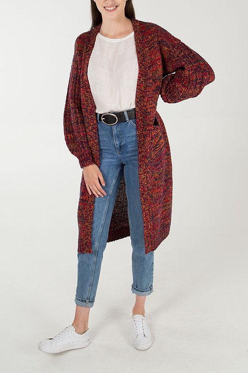 Chunky Knit Longline Cardigan
