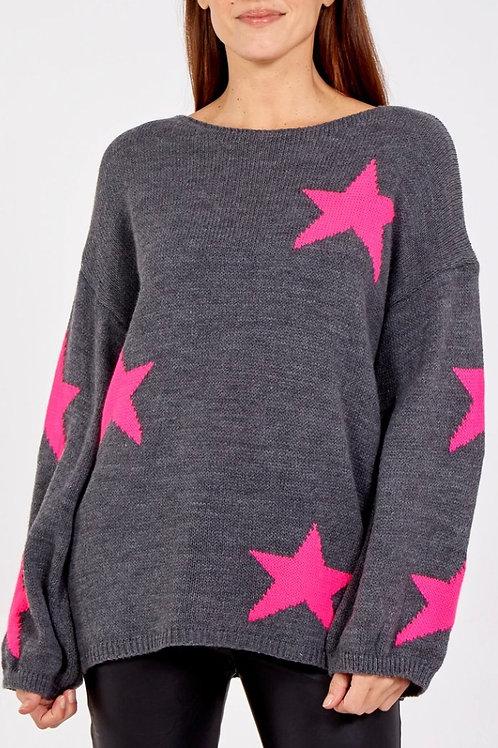 Star Wool Mix Jumper