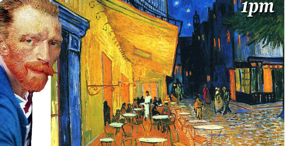 Paint & Sip- Van Gogh Cafe Terrace By Night