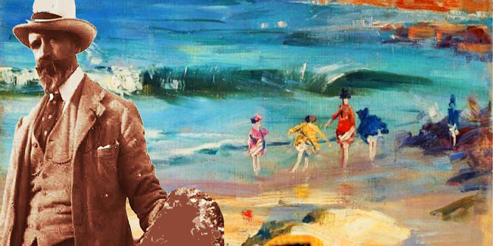 Paint & Sip- Streeton's Beach Scene