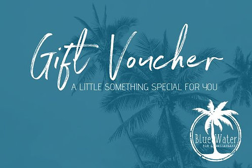 Blue Water Gift Vouchers