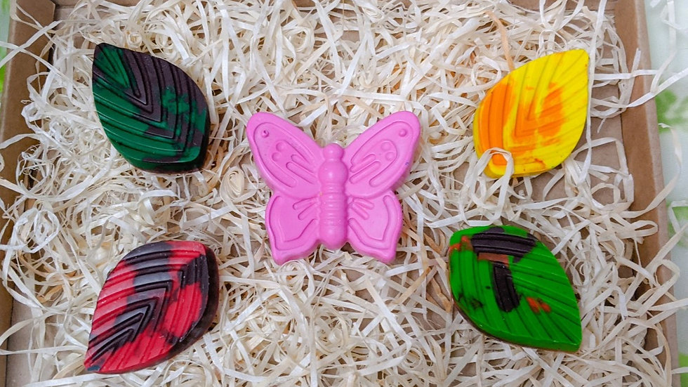 Crayon Set (Butterfly)