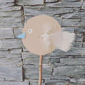Create Bird Puppets
