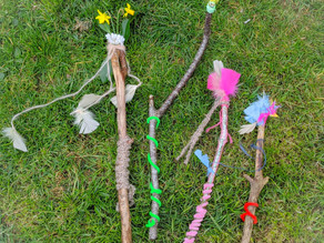Make Wonderful Nature Wands
