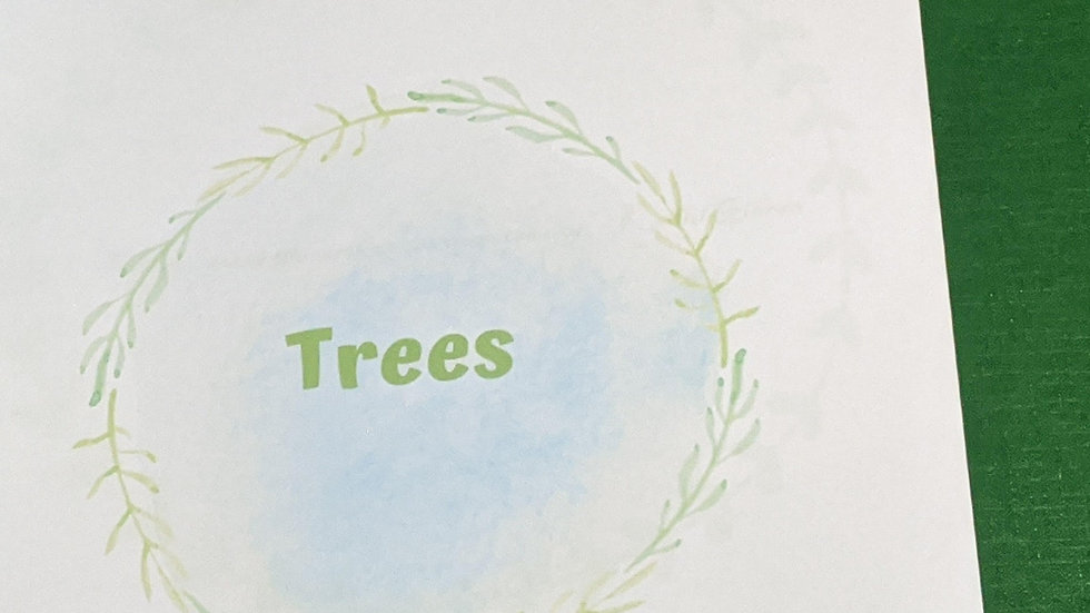 Tree Activity Booklet