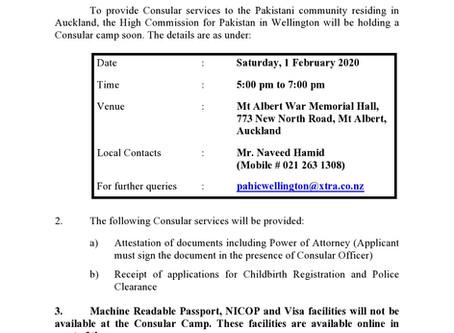 Consular Visit to Auckland (1 February 2020)