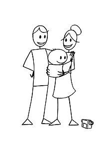 parents, enfants, famille, vidéo, lorraine
