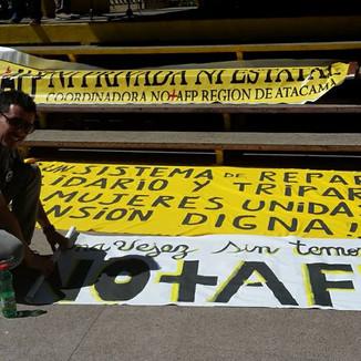 Concierto marcha No+AFP