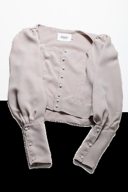 [Sample price]Square neck shirts