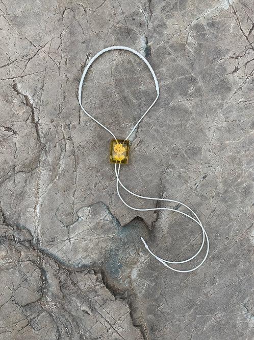 """Loop tie """"flower"""""""