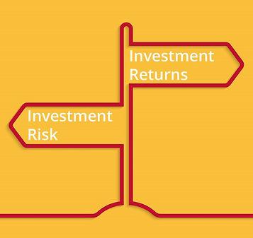 Opportunity Cost Risk Return sign post.j