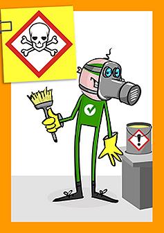 Sicherer Umgang mit Gefahrstoffen