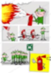 Richtiges Verhalten bei einem BrandfallRichtiges Verhalten bei einem Brandfall