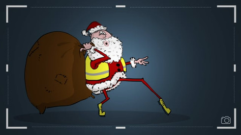 Safety first .... this applies even to Santa Claus